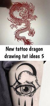 Neue Tattoo Drachen Zeichnung tat Ideen 5