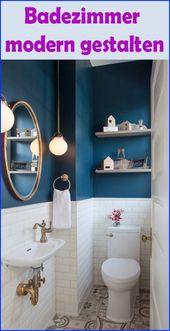 Kleines Badezimmer modern gestalten – Tipps & Ideen mit Lichtdesign