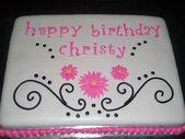 25+ besten Ideen für Geburtstagskuchen auf Pinterest | Dekorierter Blechkuchen, ….   – Blechkuchen