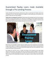 Cash doorstep loans picture 7