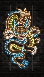 Illustrator Business Card Tiger Dragon Illustration for poster & business card on Behance