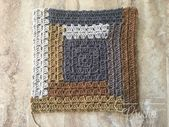Crochet Log Cabin Quilt