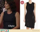 Suiting dress by Helmut Lang on HIMYM