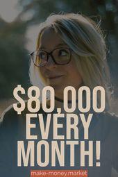 $80,000 every month! – Amanda | Blogging, Social Media, Affilate Marketing, online jobs