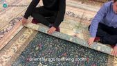 oriental rugs for living room Materials: Silk Tech…