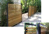Protector de pantalla Diseño de jardín – terra architectura, Construcción – Protector de pantalla Garden Wood Modern   – garten
