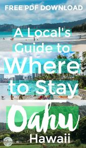 Why You Ought to Go to Oahu and The place to Keep
