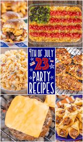 4th of July Party Recipes – 23 easy and delicious recipes to celebrate America's…