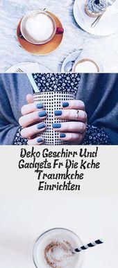 #Deko #die #Einrichten #für #Gadgets #Geschirr