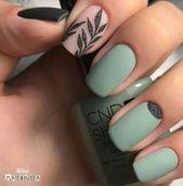 34 Wunderschöne natürliche Sommer Nail Color Designs Ideen #Cutenails   – cute nails