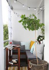 25 schicke Möglichkeiten, einen kleinen Balkon zu schmücken – Balkon