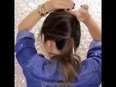 Haarschnitt Für Damen Langes Haar | Ein langes Haar | Einfache Hochsteckfrisuren für mittellanges Haar 20191027 - 27. Oktober 2019 um 01:10 Uhr