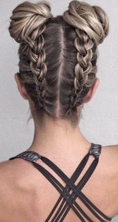 28 Geflochtene Zopfgeflechte für kurzes Haar, die Sie für 2019 lieben werden, Geflochtene Zopfgeflechte für kurzes Haar Frisuren mit schönem Weblook …