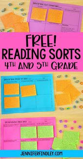 Free 4th and fifth Grade Studying Kinds
