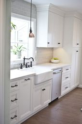 60+ White Kitchen Design Ideas For The Heart Of Your Home – Page 67 of 68 – LoveIn Home