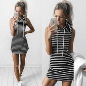 Pariah – Striped Sweater Dress