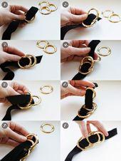 DIY // 5-minute statement necklace