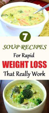 7 Suppenrezepte für schnellen Gewichtsverlust, die wirklich funktionieren   – MMM Soup