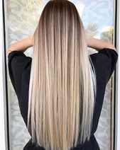 Amazing long straight hairstyles for women