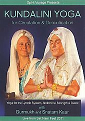 Kundalini Yoga for Circulation & Detoxification, 1 DVD (DVD)