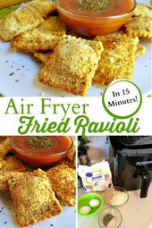 Fried Ravioli In Just 15 Minutes – Quick and Easy Air Fryer