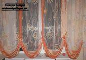 Vorhang UK 2014, orange Vorhang UK 2014, UK Vorhänge für die Küche   – Zavjese