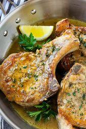 14 Easy Pork Chop Recipes to Make for Dinner Tonight #purewow #dinner #recipe #p…