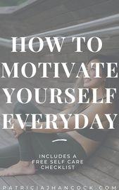 Wie Sie Ihre Motivation zurückgewinnen – Patricia J Hancock | Selbstpflege für beschäftigte, überforderte Frauen – ➰ Goals + Motivation