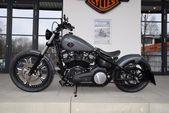 Harley-Davidson FXBB Street Bob 2018 Umbau – Gunship Grau / Custom Bikes / Motor …   – NEW HARLEY