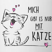 Katzen T-Shirts |  Mit lustigen Katzen-Motiven bedruckte Shirts und Geschenke für Katzenfreunde