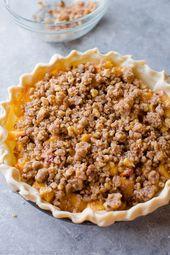 Pfirsich-Streusel-Kuchen mit braunem Zucker auf Sallysbakingaddic zubereiten …   – Food to Make…or at least attempt!