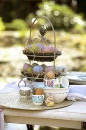 Combinez la décoration printanière avec une jolie décoration de Pâques   – Fesch Wohnen – Living & Interior & Deco
