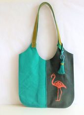 ᐅ Einfache Tasche aus Leder nähen