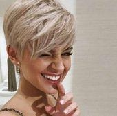 46 atemberaubende Kurzhaarschnitte von Elfen – Diy Fashion   – Frisur ideen