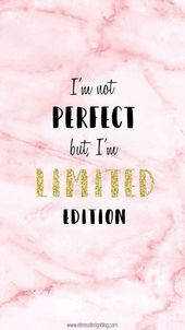 You don't have to be perfect in order to be be… – #blogueuse #don39t #orde…