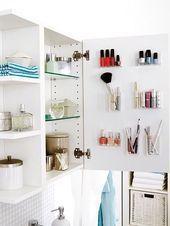 10 Einfache Ideen Die Schnell Platz Machen Badezimmer