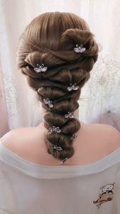 10 Amazing Braid Hairstyles – Fashion Braids Hairstyle For 2019 #hairstyle #hair #braid