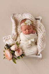18 idées créatives de photographie nouveau-né   – Kind