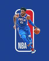 Das nächste NBA-Logo? NBA-Logoman-Serie über Behance   – Basket
