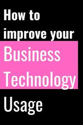 Improve Your Business Technology Usage Today – Morning Business Chat