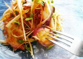Octopus and Shredded Vegetable Salad With Gochujang Recipe by cookpad.japan