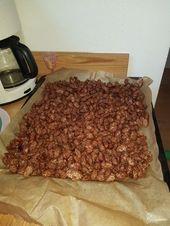 Burnt almonds
