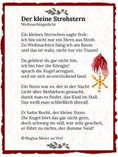 Der kleine Strohstern – Mandy Spiegel Weber