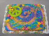 Frieden, Liebe und Glück – 1/4-Blechkuchen mit Buttercreme-Zuckerguss und …   – mhhh…sweet & baked