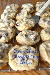 Cream Cheese Chocolate Chip Cookie