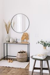 3 Ways to Use a Small Side Table