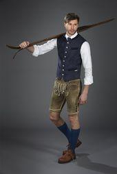 Den traditionella AlpenHerz västen Luis från hösten / vinterkollektionen 2020 imp …
