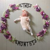 Two Months Old | Monthly Photo Series | Newborn Photography | Monthly Baby Pictu… – monthly Baby Photo