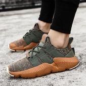Hombre Primavera Otoño Hombre Zapatillas de deporte Camuflaje ligero Zapatos planos con cordones Calzado cómodo   – 4 my babe