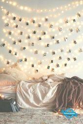 #wanddekoration #jugendzimmer #lichterkette #decoration #dekoration